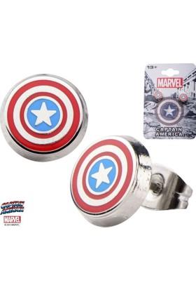 Body Vibe Marvel Captain America Shield Logo Küpe