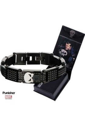 Body Vibe Marvel Punisher Black Bileklik