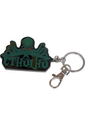 Sd Toys Cthulhu Logo 7 Cm Metal Anahtarlık