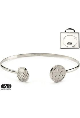 Body Vibe Star Wars Stormtrooper Cuff Bangle Bilezik