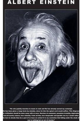 Pyramid International Mini Poster Einstein Tongue Mpf2080