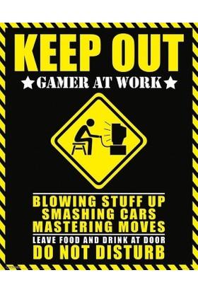 Pyramid International Mini Poster Keep Out Gamer At Work Mpp50557
