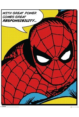 Pyramid International Mini Poster Marvel Spider-Man Quote Mpp50497