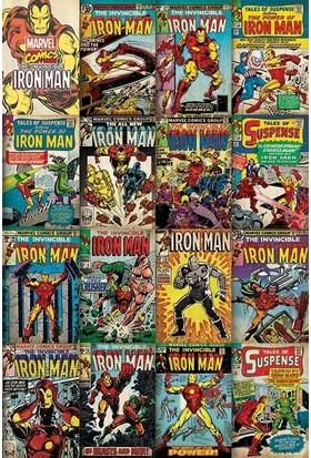 Pyramid International Maxi Poster Marvel Iron Man Covers Pp33555
