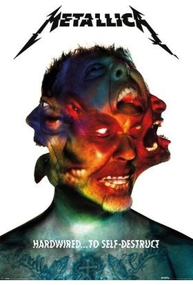 Pyramid International Maxi Poster Metallica Hardwired Album Pp34023