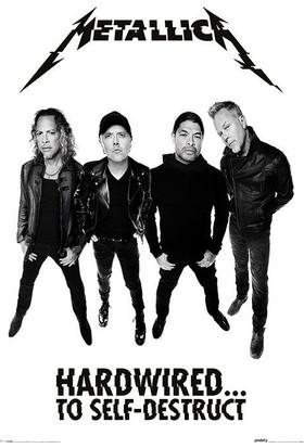 Pyramid International Maxi Poster Metallica Hardwired Band Pp34025