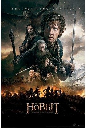 Pyramid International Maxi Poster The Hobbit Botfa One Sheet Pp33507