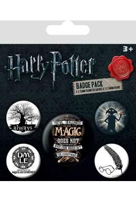 Pyramid International Rozet Seti Harry Potter Symbols