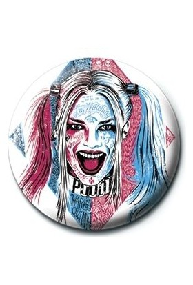 Pyramid International Rozet Suicide Squad Harley Quinn Tattoo