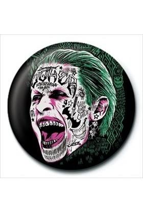 Pyramid International Rozet Suicide Squad Joker Tattoo