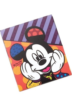 Enesco Disney By Britto Mickey Mouse Not Defteri (75 Sayfa, 12 Cm)