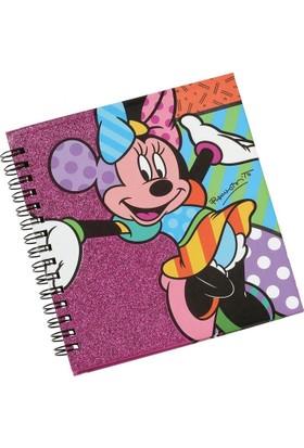 Enesco Disney By Britto Minnie Mouse Not Defteri (80 Sayfa, 14 Cm)