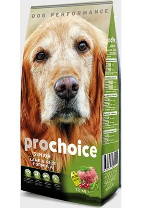 Pro Choice Senior Lamb Plus Kuzu Etli Hipoalerjenik Yaşlı Köpek Maması 12 Kg