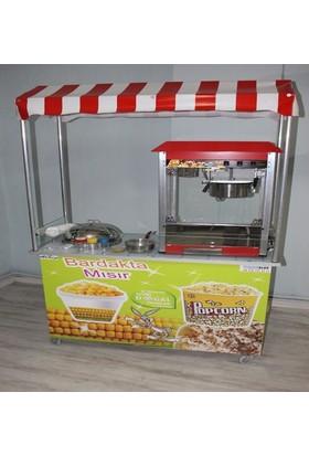 Cemko Popcorn ve Bardakta Mısır Arabası 50x120