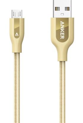 Anker Powerline+ Micro USB 0.9 Mt Dünya'nın En Güçlü Micro USB Kablosu 10000+ Eğme Bükme Ömrü
