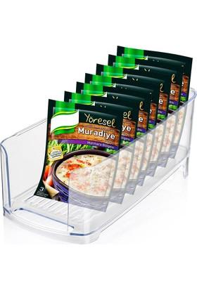 Helen's Buzdolabı İçi Kutu İçecek ve Hazır Yiyecek Düzenleyici