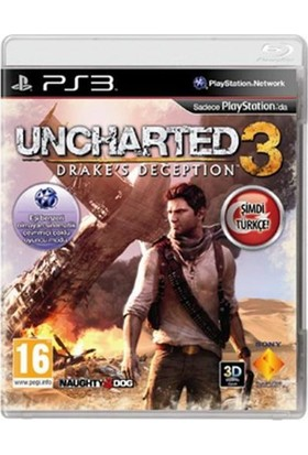 Uncharted 3 Drake's Deception Ps3