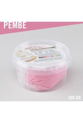 Şeker Sugar Pembe Şeker Hamuru (200 gr)