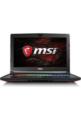"MSI GT62VR 7RE(Dominator Pro)-284XTR Intel Core i7 7700HQ 16GB 1TB + 256GB SSD GTX1070 Freedos 15.6"" FHD Taşınabilir Bilgisayar"