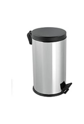 Hiper Plastik Kapaklı Çöp Kovası - 16 Lt