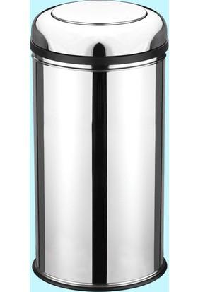 Hiper Pratik Kapaklı Çöp Kovası - 45 Lt