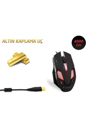 Everest Smx-R10 Rampage Orion Oyuncu Mouse