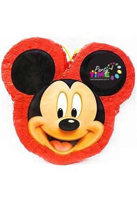 Party Time Mickey Mouse Pinyata Sopası
