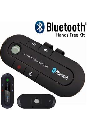 Microcase Bluetooth Hands Free Araç Kiti Çift Telefon Desteği