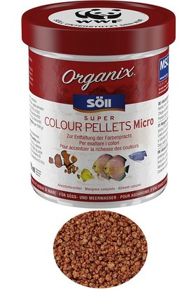Söll Organix Super Colour Pellets Micro 120gr/270 ml