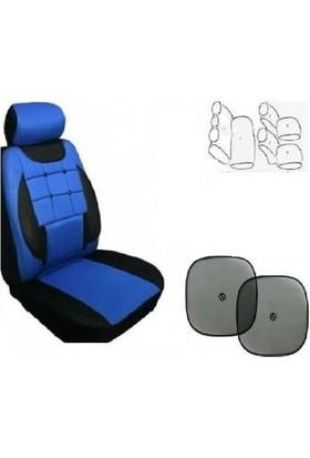 Koltuk Kılıfı Seti Ön- Arka Komple Takım Yan Cam Perde Hediyeli Seat Exeo