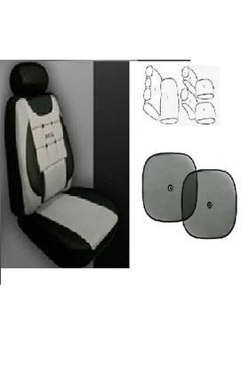 Koltuk Kılıfı Seti Ön- Arka Komple Takım Yan Cam Perde Hediyeli Mitsubishi Evo