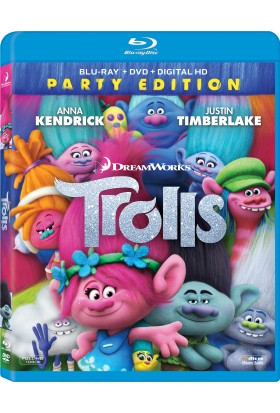 Trolls - Troller Blu Ray Disc