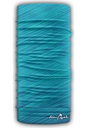 Denizatı Mavi Renkli Bandana