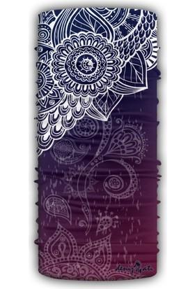 Denizatı Şal Desenli/Renkli Bandana