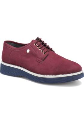 Jj-Stiller 690-1 M 1506 Bordo Erkek Modern Ayakkabı