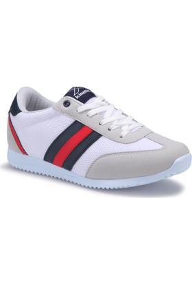 Kinetix Avila M Mesh Beyaz Açık Gri Kırmızı Erkek Sneaker