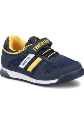 Kinetix Femand FB Lacivert Sarı Erkek Çocuk Sneaker Ayakkabı