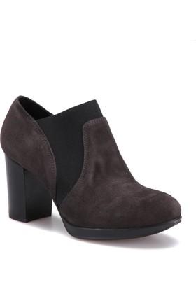 Miss Roberta A7000032 Siyah Kadın Deri Ayakkabı