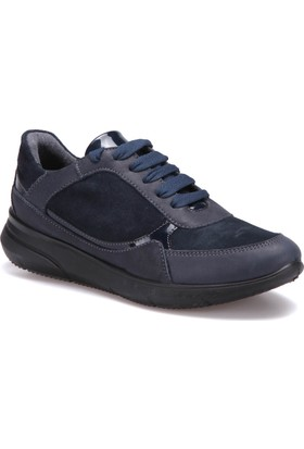 Miss Roberta A7000035 Mavi Kadın Deri Ayakkabı