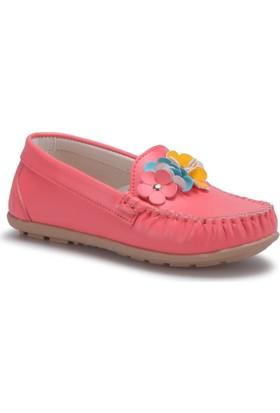 Pink Step Miu-2 Mercan Kız Çocuk Babet Ayakkabı