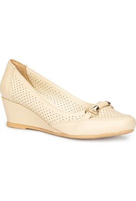 Polaris 71.156453.Z Bej Kadın Ayakkabı