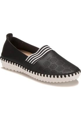 Travel Soft GC-1493 Siyah Kadın Ayakkabı