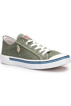 U.S. Polo Assn. Penelope Haki Erkek Sneaker Ayakkabı