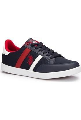 U.S. Polo Assn. Santo Lacivert Erkek Sneaker Ayakkabı