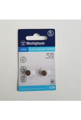Westinghouse 48 Adet AG3,LR41 Alkalin Saat Pili