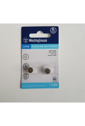 Westinghouse 48 Adet AG5,LR48 Alkalin Saat Pili