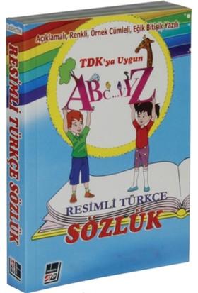 Resimli Türkçe Sözlük (Açıklamalı, Renkli, Örnek Cümleli, Eğik Bitişik Yazılı) - M. Fikri Ehliz
