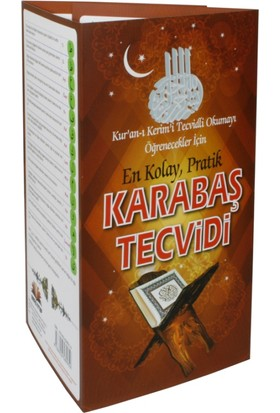 En Kolay Pratik Karabaş Tecvidi (Kartela)