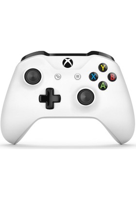 Microsoft Xbox One S Wireless Controller Beyaz