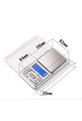 Knmaster Dijital Hassas Cep Terazi Tartı 1000Gr./0.1G